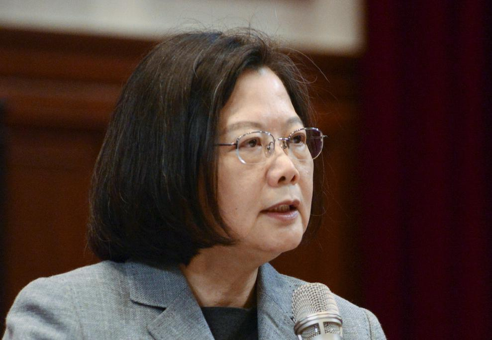 Taiwan president calls for international support to defend democracy https://reut.rs/2Tuv4YK