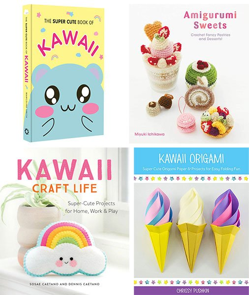 Kawaii Amigurumi Zoo - Japanese Crochet Pattern Book for ... | 600x506