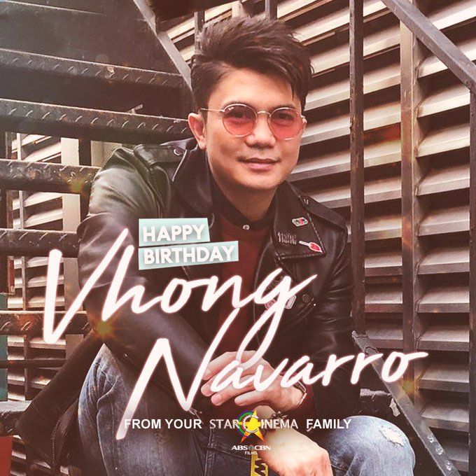 Happy birthday, Vhong Navarro! Your Star Cinema fam loves you!
