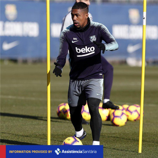 ❗ @SergiRoberto10 & Malcom medically cleared for trip to Getafe ➕ More details forthcoming...  ���� #ForçaBarça https://t.co/bUQwolLYrm