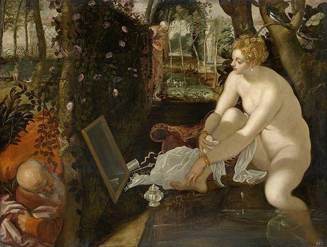 Breathtaking #Tintoretto  #OilOnCanvas #SusannaAndTheElders #PalazzoDucale @visitmuve #Venice #JacopoRobusti #SusannaEIVecchioni #painting #VenetianPainting #ItalianRenaissance #ItalianMasters #PitturaVeneziana https://t.co/IuOJnDOq1s