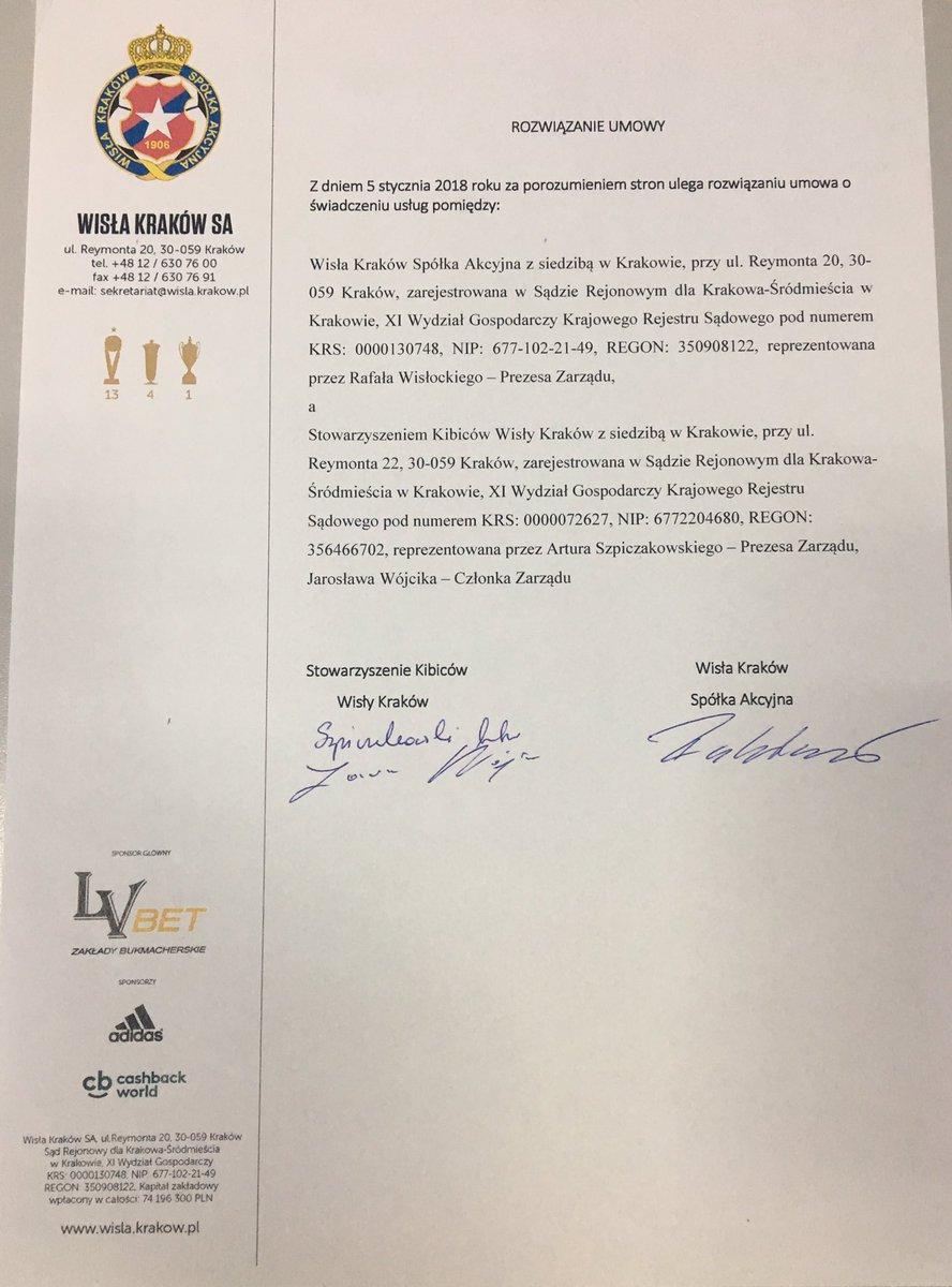 6bb1ab0a1 Wisła Kraków SA on Twitter: