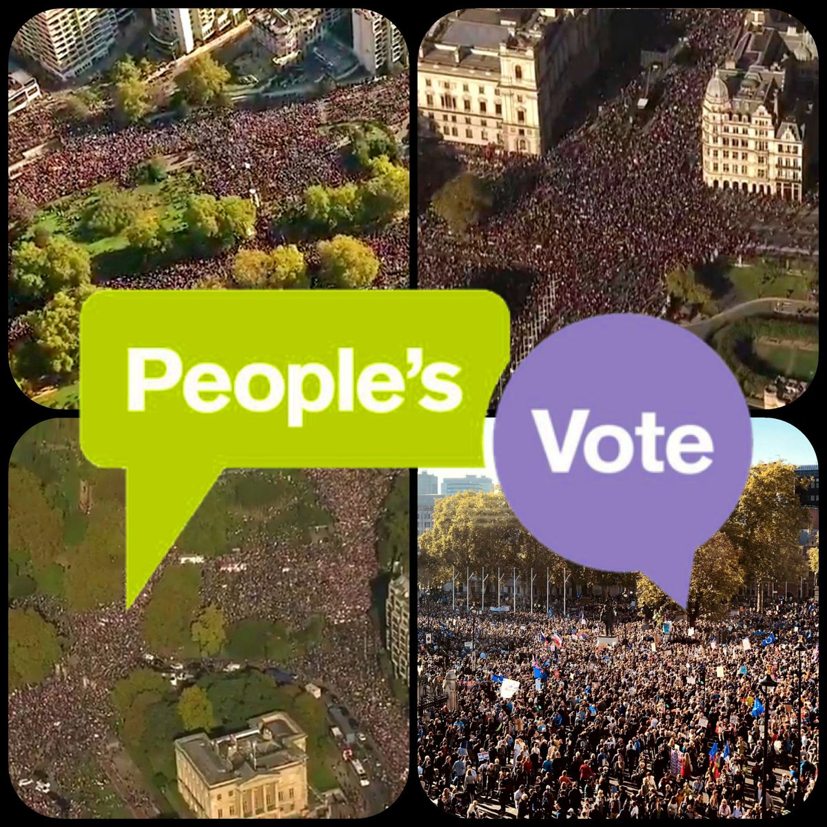 Your daily reminder that more people took to the streets to protest against Brexit than Labour or the Tories have members. Remainers are a political force to be reckoned with, and you ignore us at your peril #PeoplesVote https://t.co/c6Xk8W2DoB