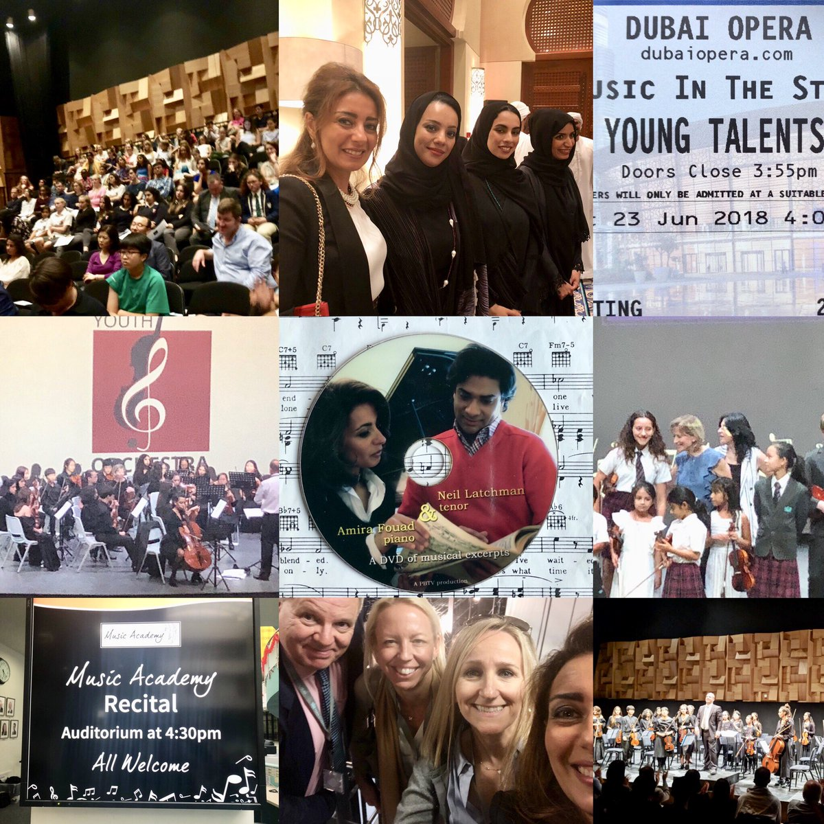 2018 Thank yous continue! This time for the youth of Dubai and across the UAE for all their dedication and enthusiasm for music and music making.  The International Youth Orchestra & many more who support our musical initiatives are to be thanked. Thank you and Bravo! https://t.co/bUgGAntc7G