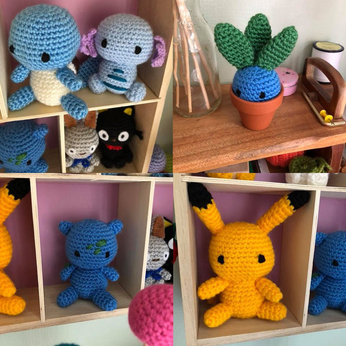 Crocheted Plush Pokémon Characters With Insane Detail | 1200x1200