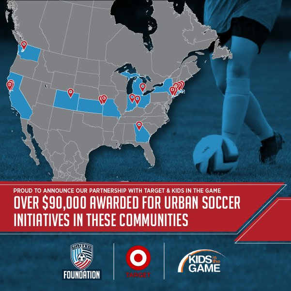 #MondayMotivation 💝 WOW! Thank you @UnitedCoaches for all you do in our communities, we are so excited for you and know you are going to make a huge impact! #TargetYouthSoccerGrants