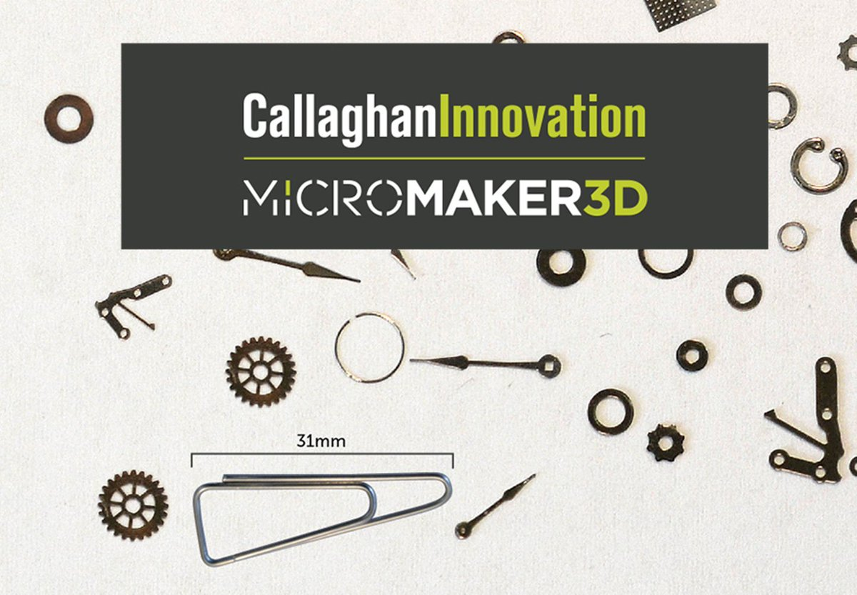 2018 rewind: Our MicroMaker3D team have pioneered a new way to make very very small things with additive manufacturing. https://bit.ly/2A1pWEc