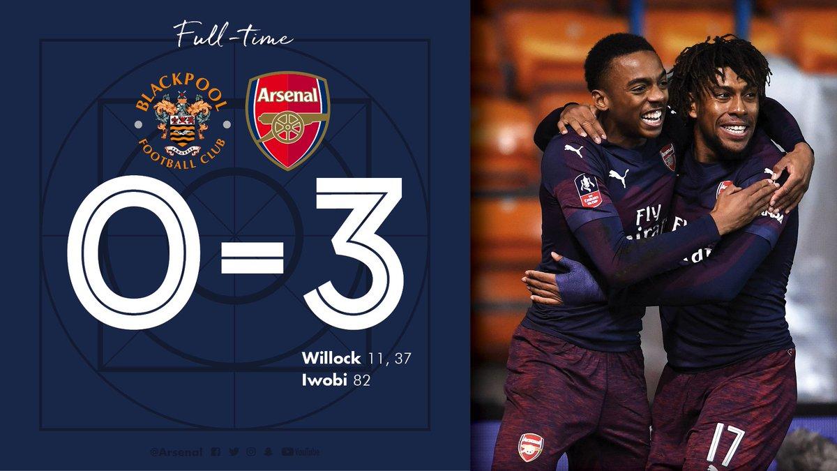 Blackpool-Arsenal