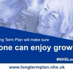 The #NHSLongTermPlan will be launched on Monday. The plan makes sure the NHS works for families of all ages, so we can all enjoy living longer https://t.co/MYJ4ZE1zE9