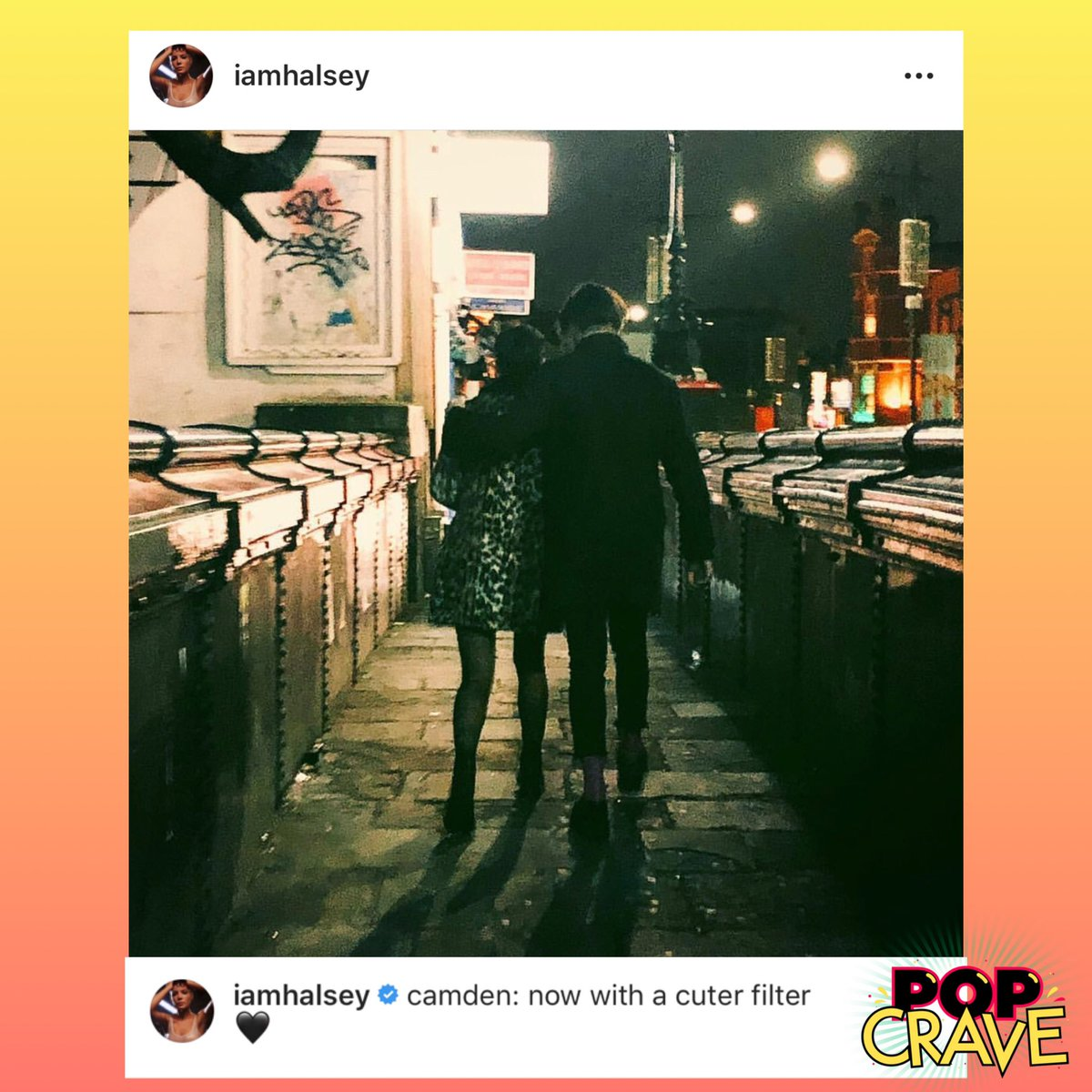 halsey and yungblud split
