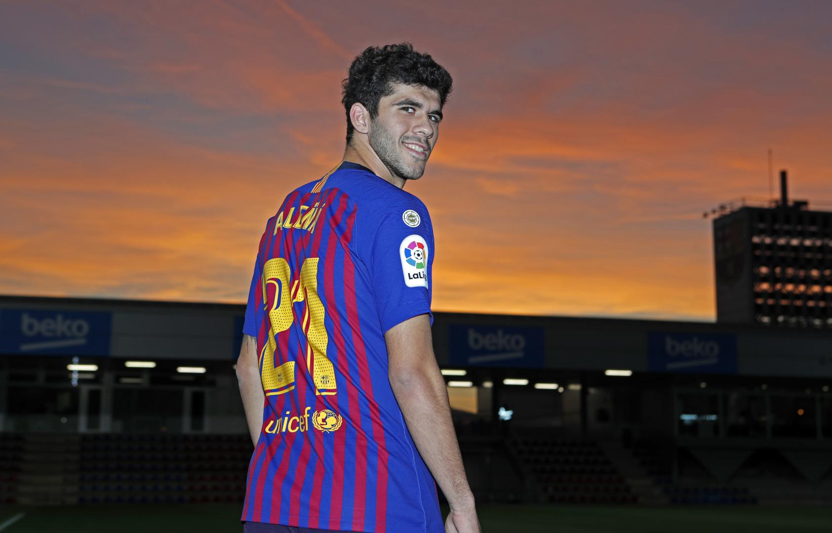 �� @Carlesale10, 21 years of Barça passion ❤�� https://t.co/RstD905Rb3