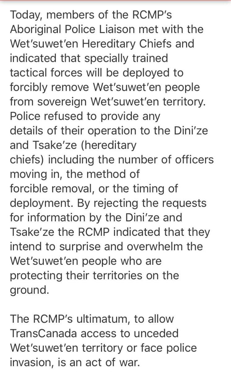'act of war' #Unistoten Press statement: