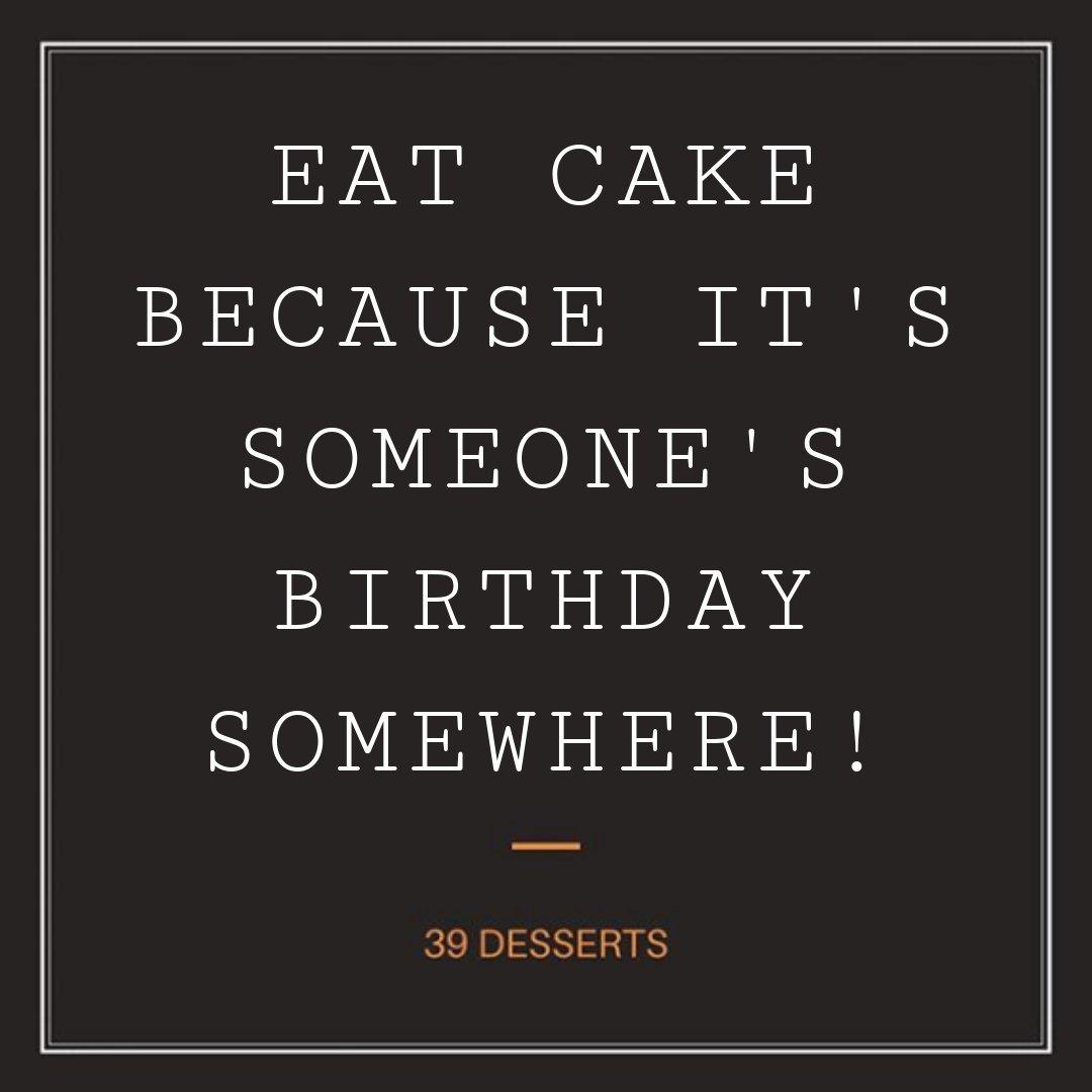 2833eaf17 Thirty Nine Desserts on Twitter: