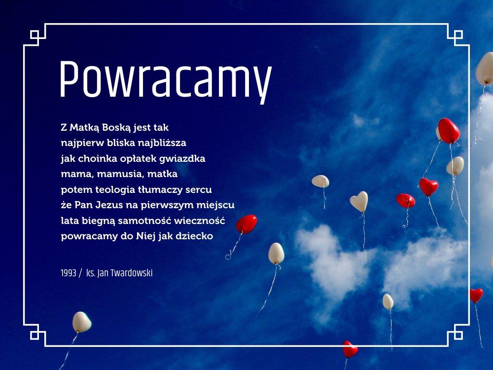 Twardowskipoezjaeu On Twitter Powracamy Wiersz Poezja