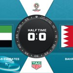 ⏱ HALF-TIME | 🇦🇪 UAE 0 - 0 BHR 🇧🇭Who do you think will score the first goal of the #AsianCup2019 🤔?