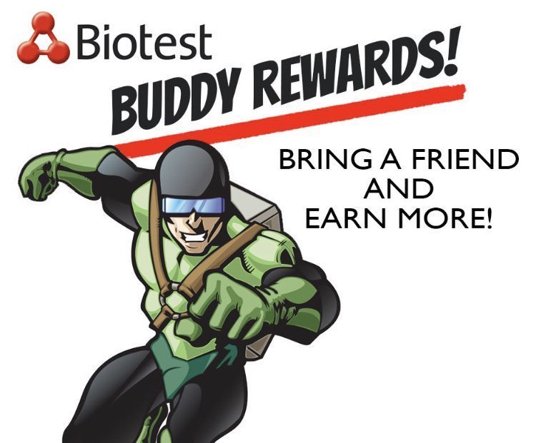 Image result for BIOTEST BUDDY REWARDS