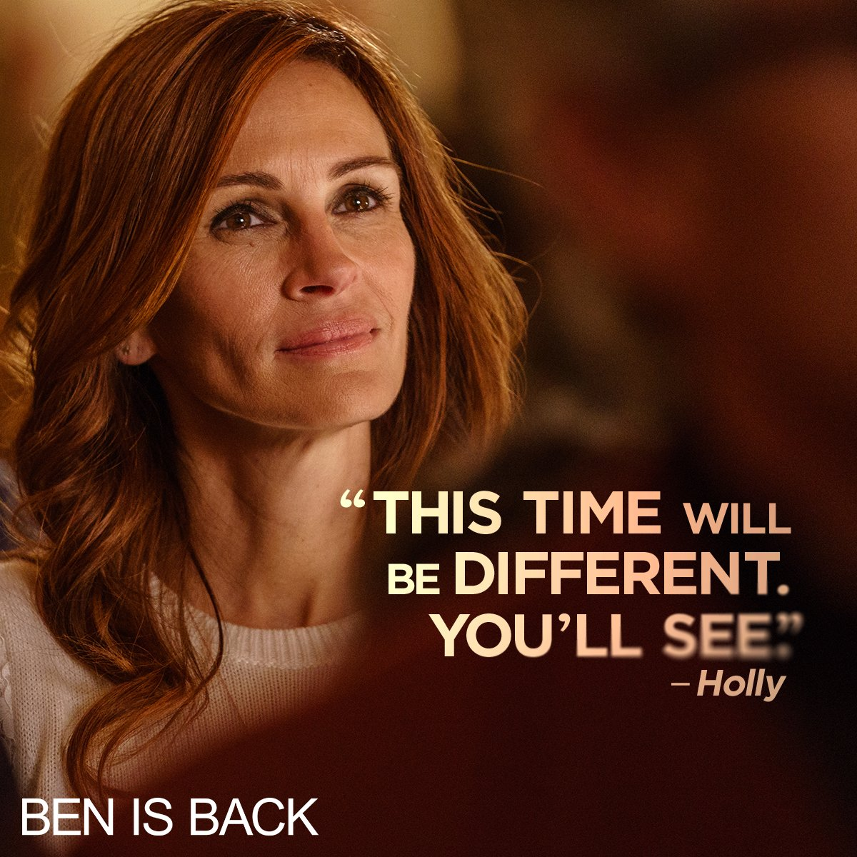 A powerful performance from #JuliaRoberts makes #BenIsBack the must-see drama of the season. Now playing.   Get tickets: http://bit.ly/BenIsBackTickets…