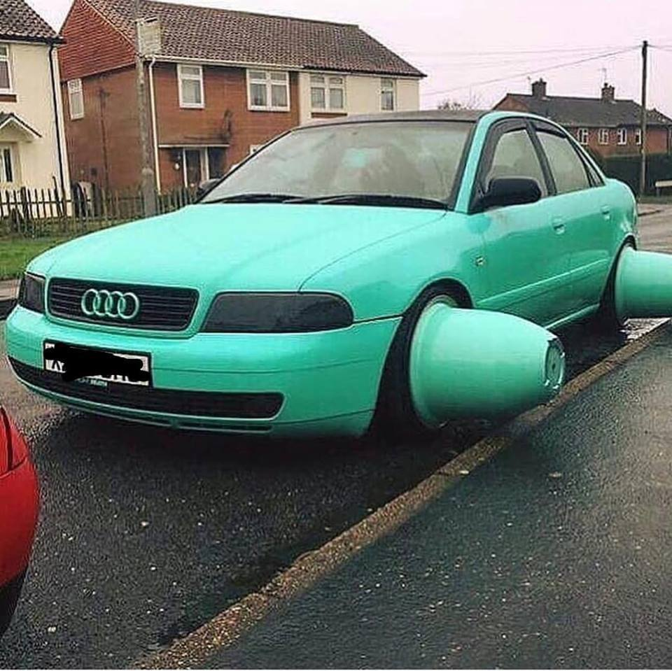 Snapper on twitter are those the new audi curb feelers🤣🤣