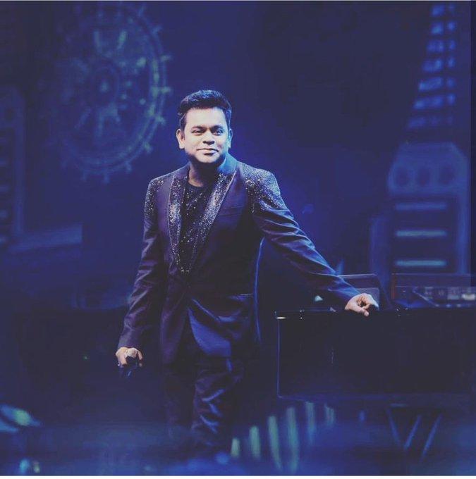 Happy birthday isai puyal A R Rahman sir!
