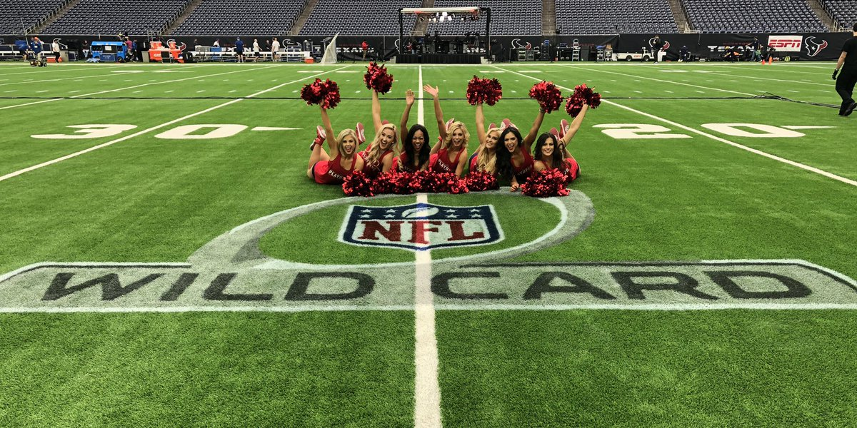 It would be impossible to be more excited about today's WILD CARD game. 🎉 #BeatTheColts #Texans