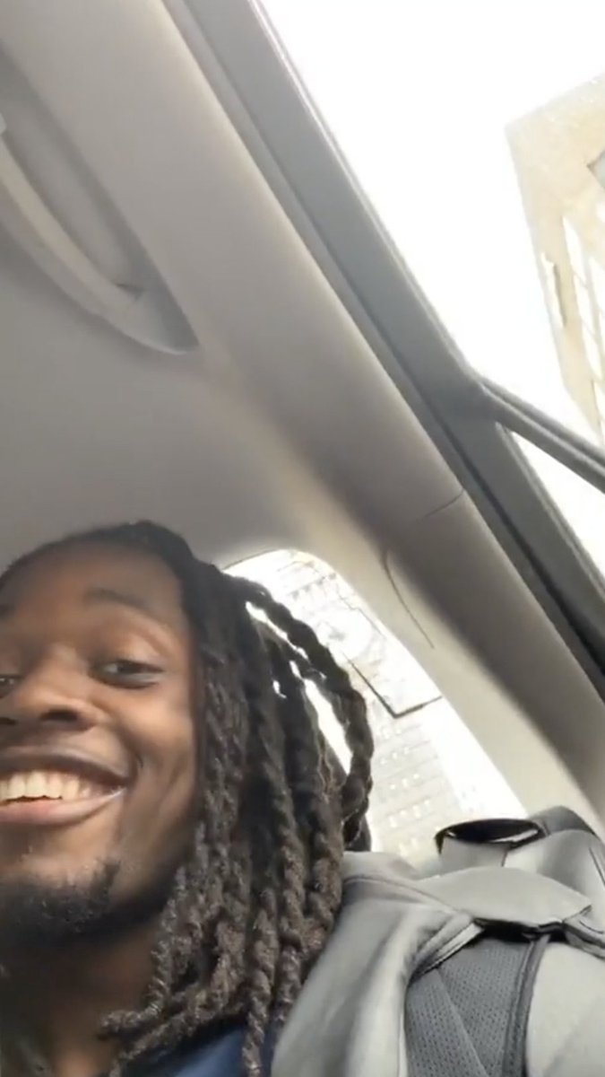 .@Melvingordon25's uber driver had no idea 😂