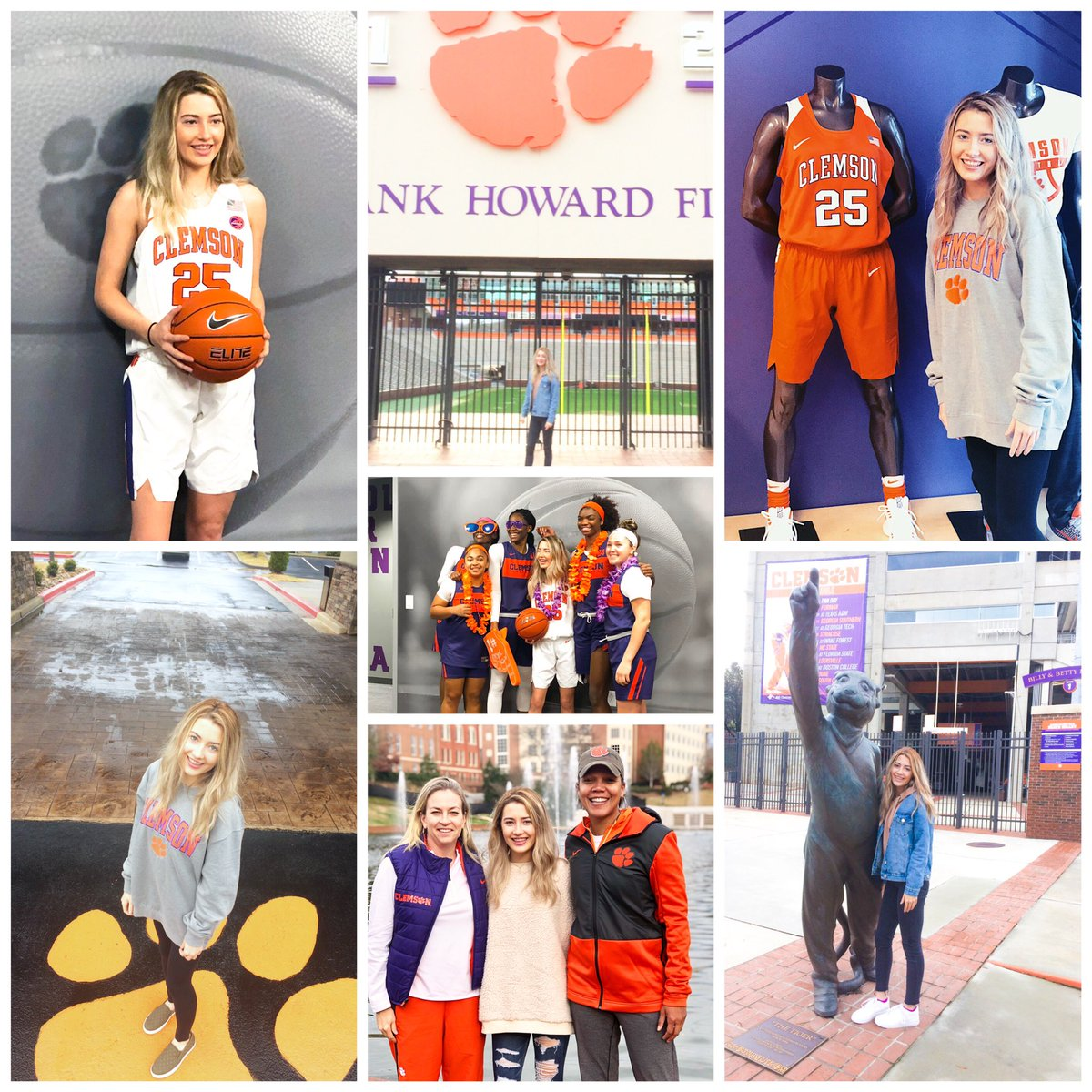Congrats to Sydney Standifer for her verbal commit to Clemson to play basketball! #txhshoops #Clemson @ClemsonTigers