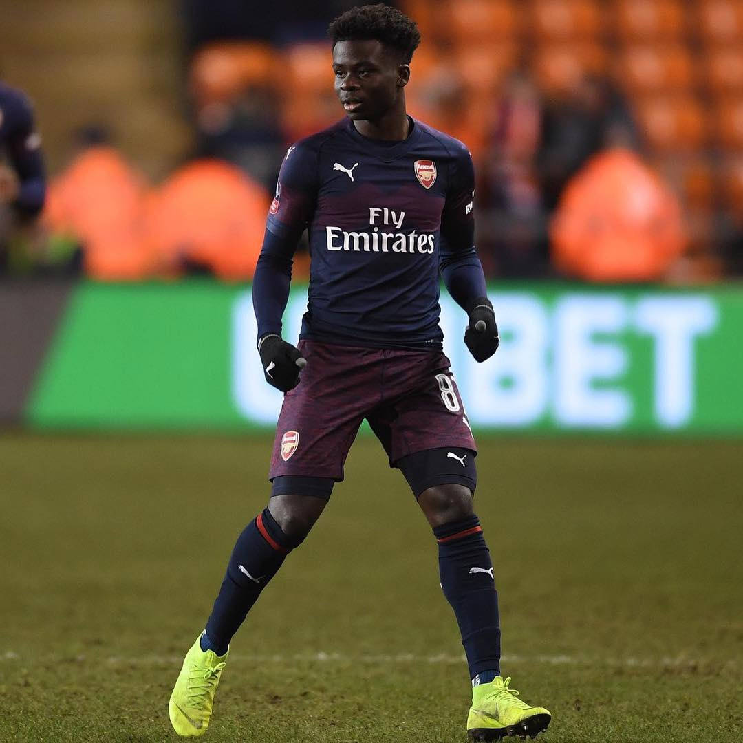 Good to get some more minutes tonight in the Fa cup🙌🏿 More importantly to get the win! Onto the next round✅ #coyg