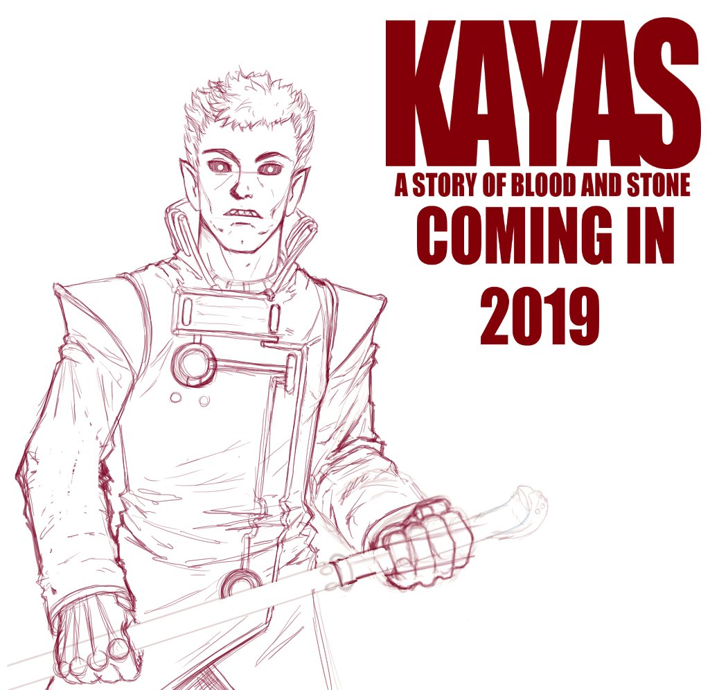 You spend time honing your craft & when the time is right, you unleash what you have been creating. You as a creator get to discover unseen territory, & you as the reader are a few short steps away, hot on the creators heels. A new adventure in comics is coming this spring.