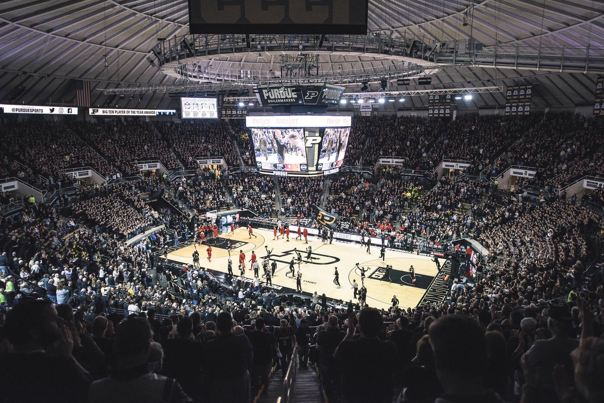 Toughest Place to Play • College Basketball •  RT ~ Purdue Like ~ Indiana   Round 1