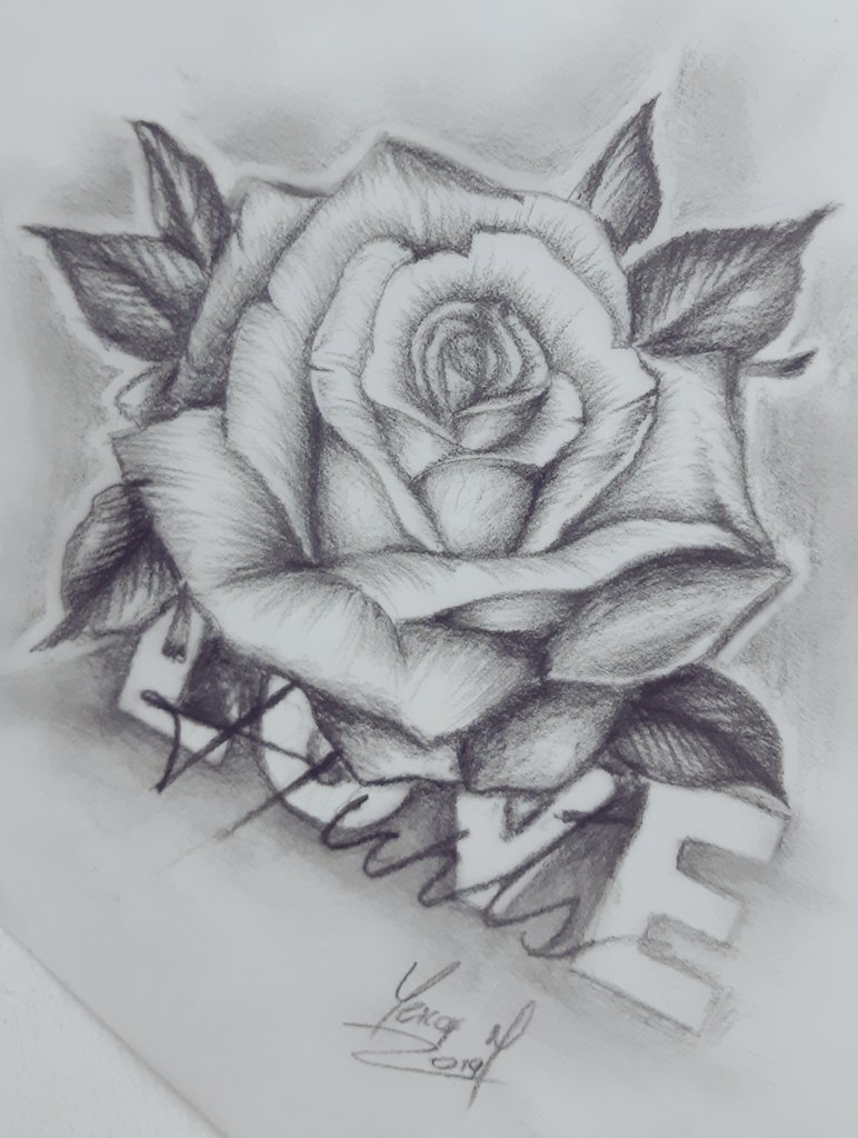 Love hurts drawing drawingpencil pencildrawing pencil drawingrose rosedraw yeicofart yeicoftattoo mutantestattoostudio worldofpencils