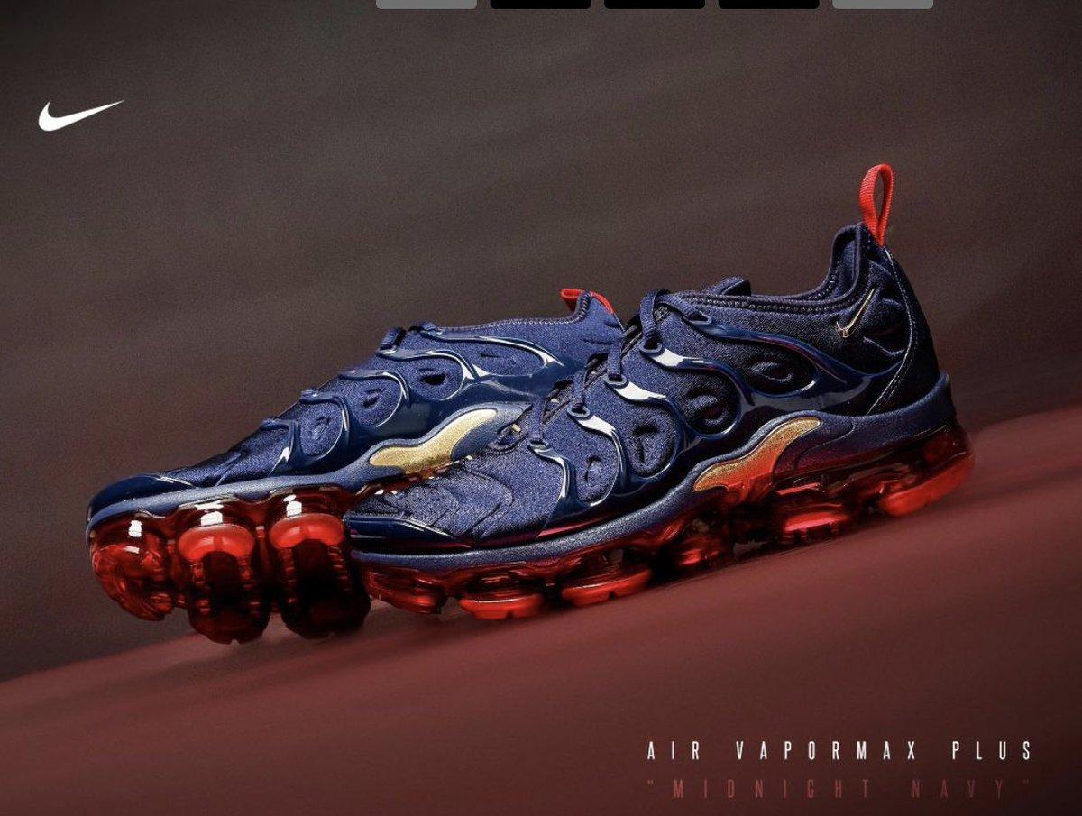 34ec17b223a54 air vapormax plus midnight navy mens running shoe midnight navy metallic  gold black university red