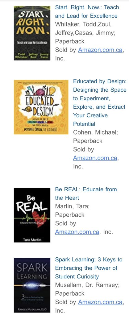 My new @dbc_inc reads. Can't wait for them to arrive! #tlap #LeadLAP