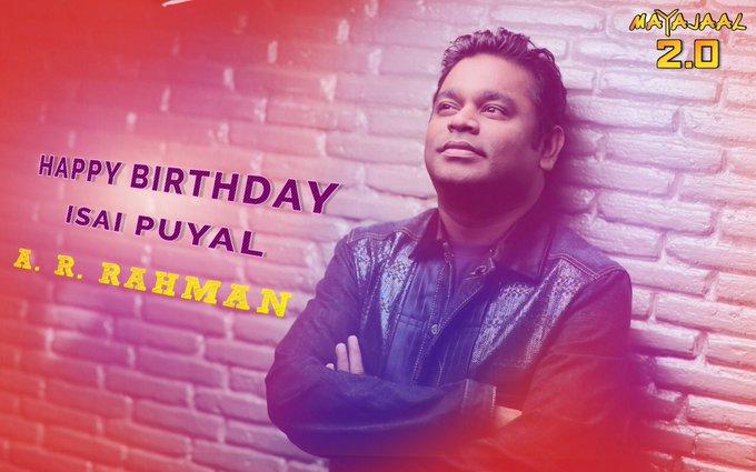 Mayajaal wishes A.R.Rahman a very happy birthday!