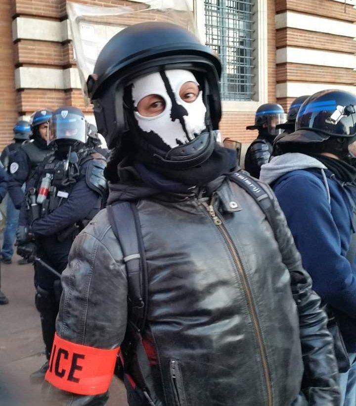 """Maxime Reynié on Twitter: """"La #Police républicaine de @PoliceNat31 ..."""