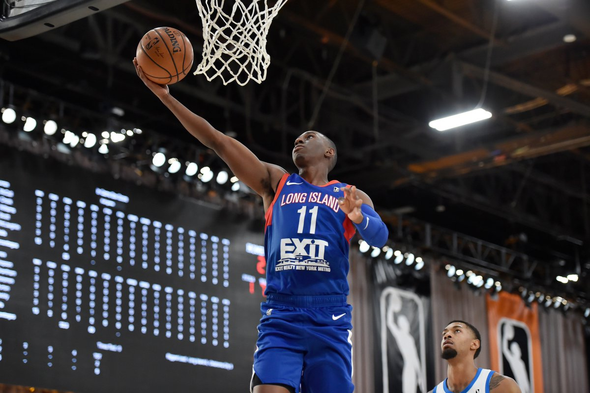 🚨 #TripleDoubleAlert 🚨  Shannon Scott (@3SScott) has notched his second-career triple-double.  The guard is now up to 11 PTS, 10 REB & 16 AST on the night for the @LongIslandNets.  📺: https://t.co/KgTnQBy8sU https://t.co/tAE99Cwgx1