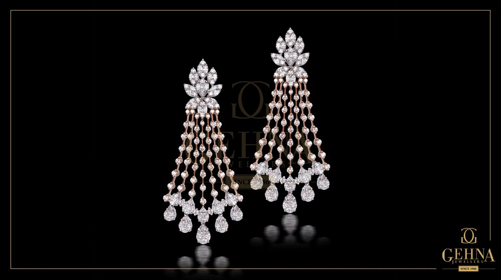Gehna Jewellers On Twitter These Timeless And Wonderfully Unique Diamond Earrings By Gehna Are Sure To Make Heads Turn For All The Right Reasons Https T Co Ekcjr5pdp0