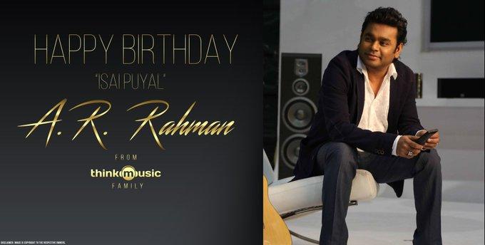 Happy Birthday thala R Rahman sir