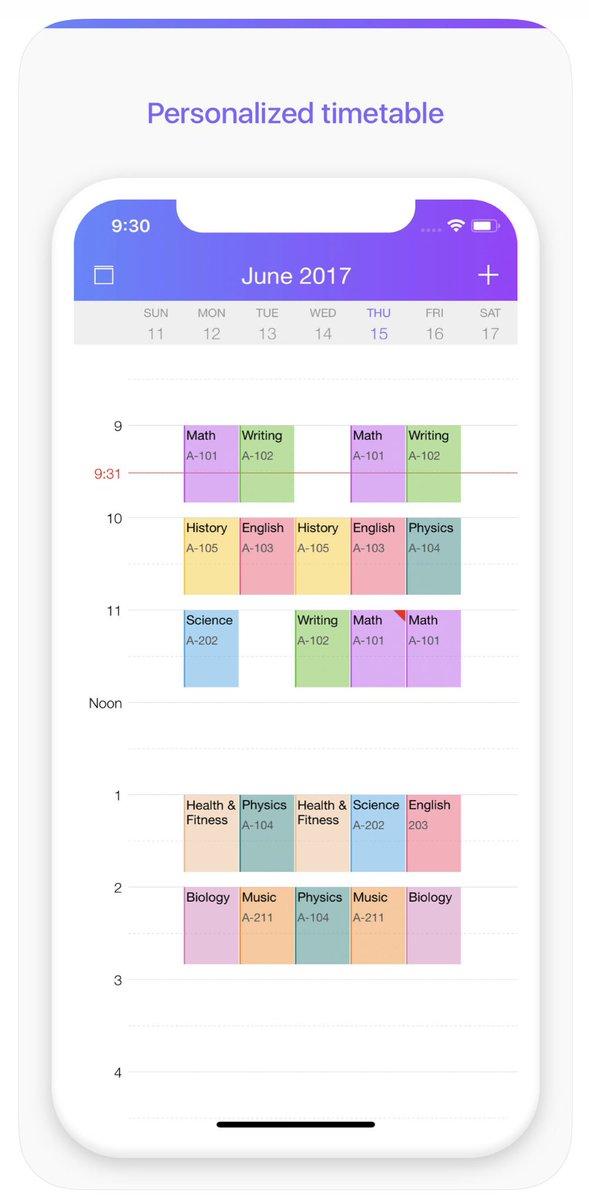 تحميل تطبيق Pocket Schedule Planner النسخة الكاملة المدفوعة للايفون مجانا