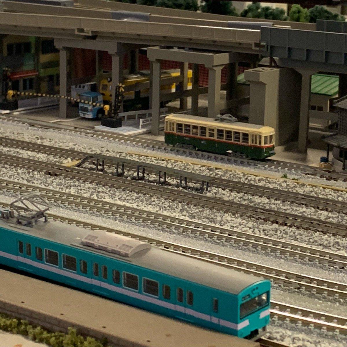 鉄道カフェはるか Nゲージ 名古屋市電1400型(4)クモハ112