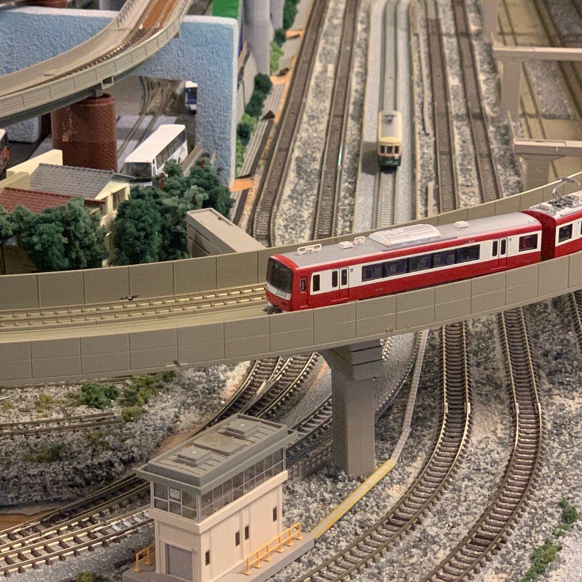 鉄道カフェはるか Nゲージ 名古屋市電1400型(2)京急2100形電車