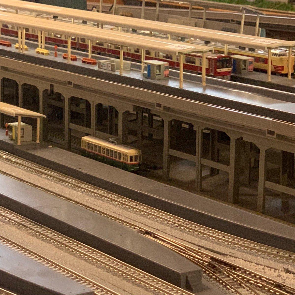 鉄道カフェはるか Nゲージ 名古屋市電1400型(3)京急2100形電車