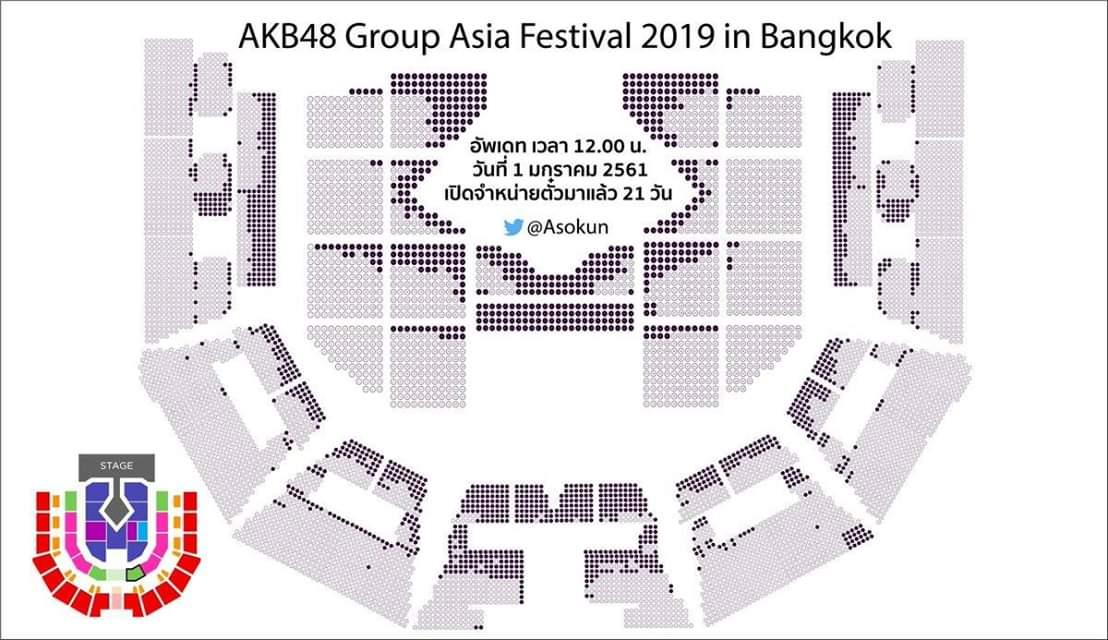 【悲報】今月タイで開催のAKBグループフェスが超ガラガラの危機w