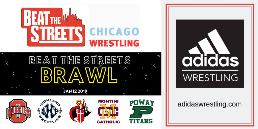 a146207c817 Some of these kids will wear their new shoes to the Tony Ramos  T Ram133  youth clinic that precedes the Jan 12  btsbrawl  ittakesacity   chicagowrestling ...
