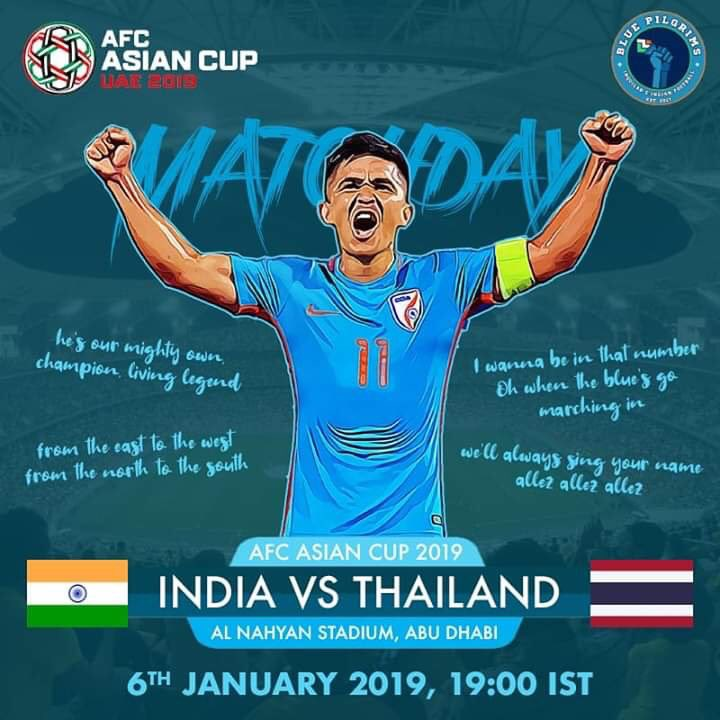 Time to show love and support for our country...  BackTheBlue   IndianFootball  AsianDream  BlueTigers  THAINDpic.twitter.com fDeSVphryK ba81e1781