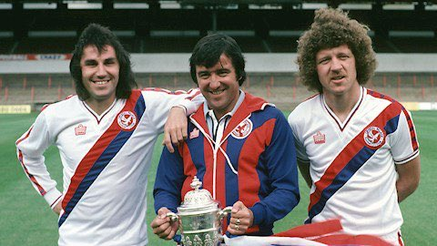 Happy 76th Birthday to El Tel . Team of the 80,s .. Look at those Barnet s # Terry Venables