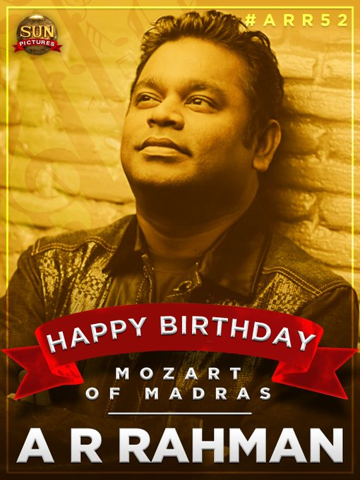 Happy birthday A R RAHMAN sir  Thalabathy 63 la unga music ku waiting sir
