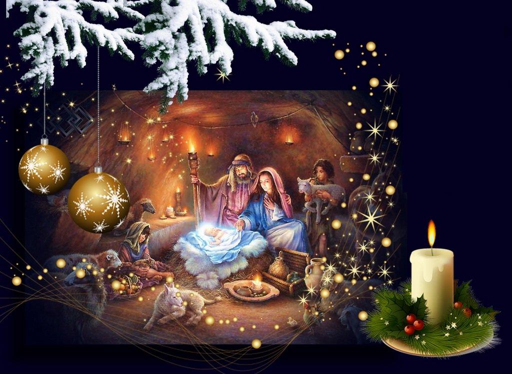 Открытки, картинка с праздником рождества христова