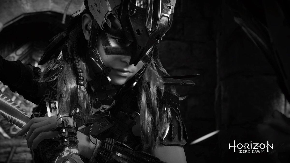 静かな決意 #HorizonZeroDawn #PS4share