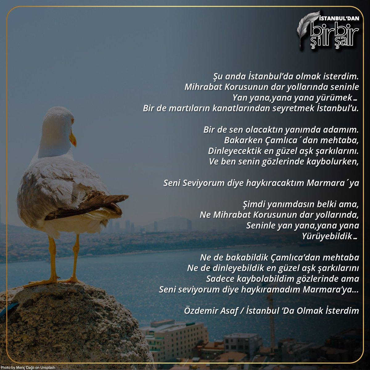 Iett On Twitter Istanbuldan Bir şiir Bir şair