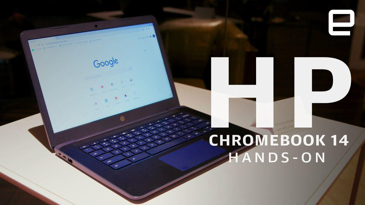 HP Chromebook 14 Hands-On: First to use AMD chips